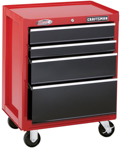 Craftsman-4-Drawer-Ball-Bearing-Cabinet-Red-and-Black