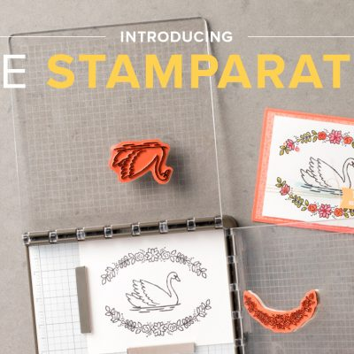 Introducing the Stampin' Up! Stamparatus