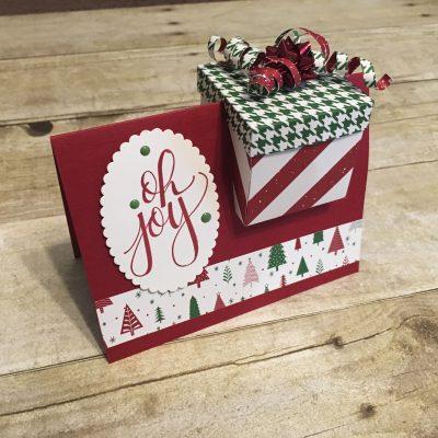 Gift Box In A Card Idea