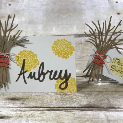 Thanksgiving Name Card and Card Ideas