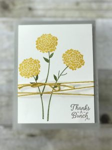 Stampin' Up! Beautiful Bouquet