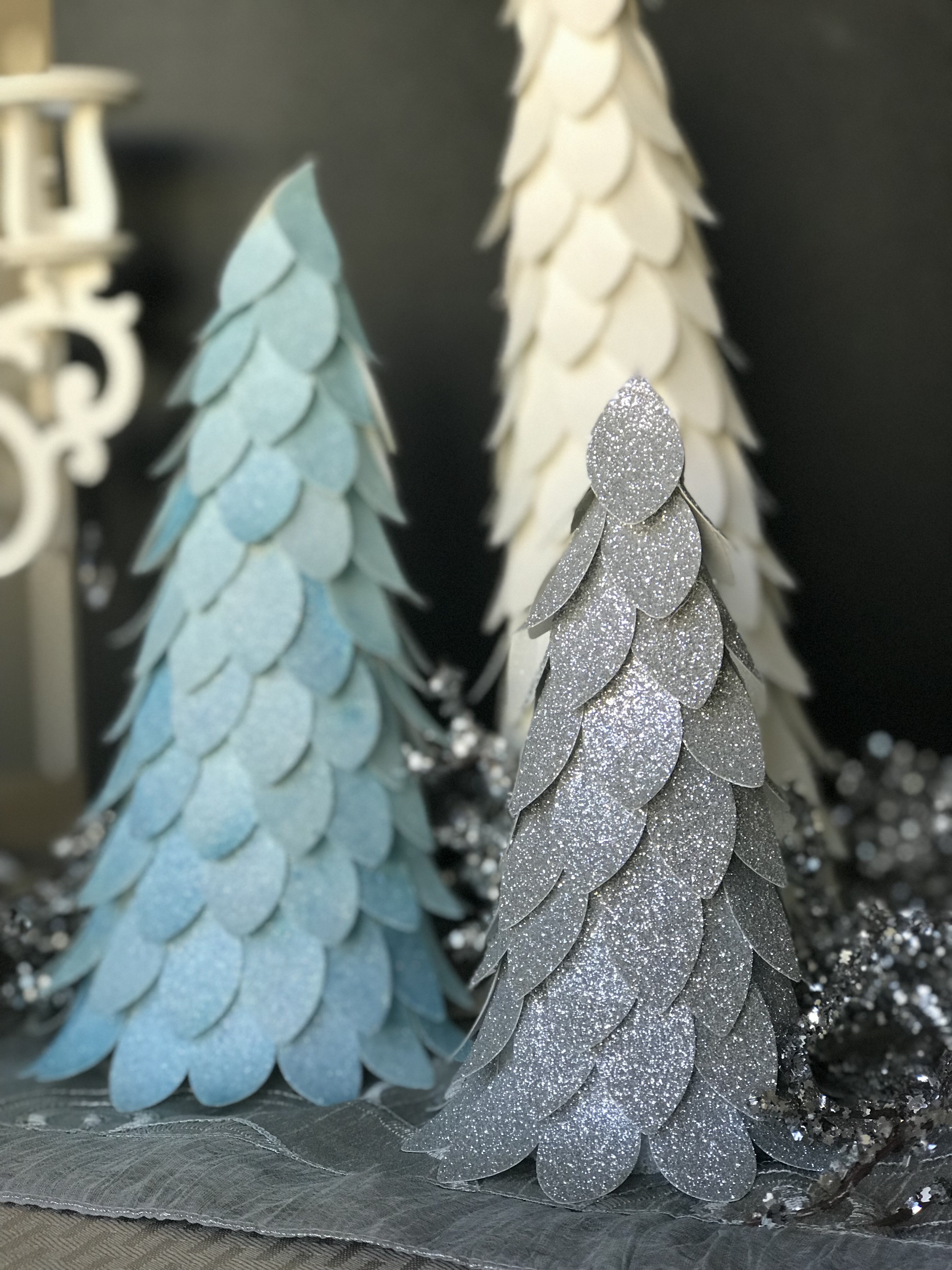 Styrofoam Christmas Tree Craft