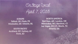 OnStage Stampin' Up Convention November 2017