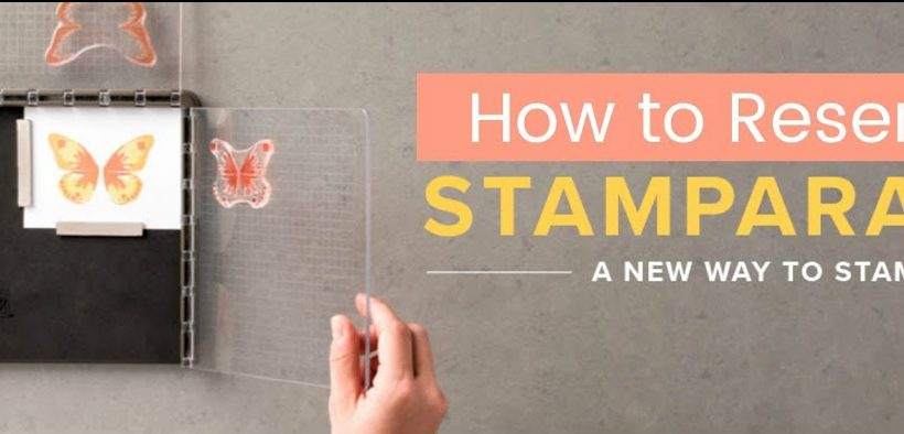 How to Reserve Stampin' Up Stamparatus