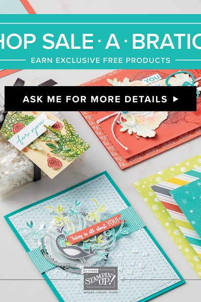 Stampin' Up! Sale A Bration Sale