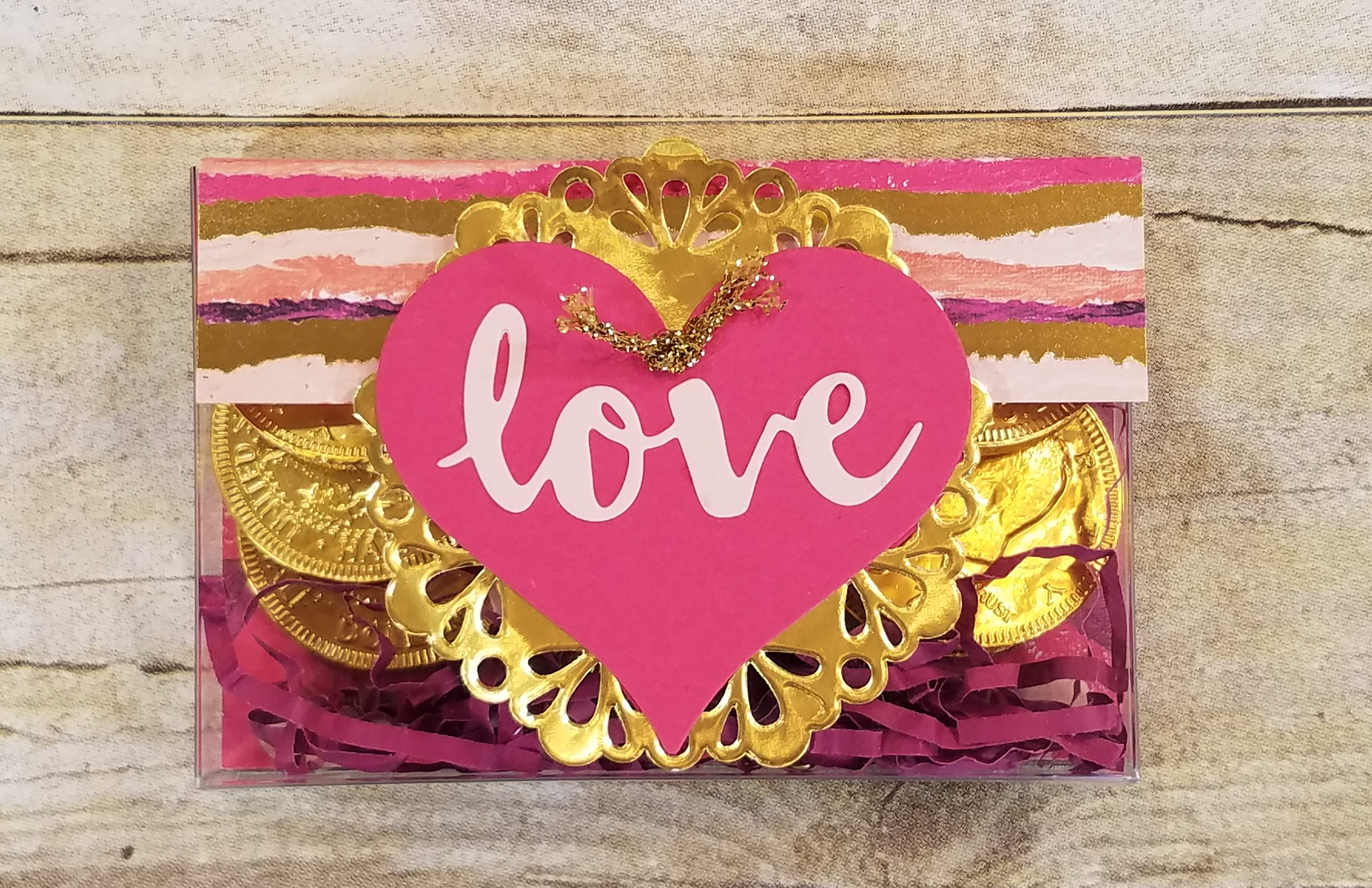 Valentine Acetate Card Box Cassette Tape Box