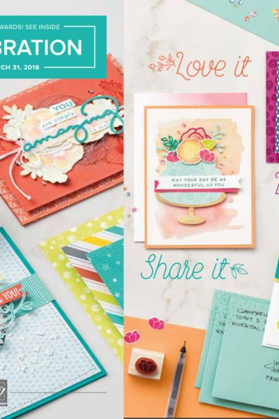 Stampin' Up! 2018 Product