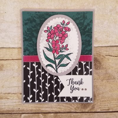 Stampin' Up! Southern Serenade Card Idea