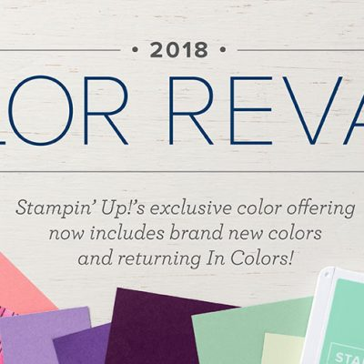 Color Revamp!!! – 17 Colors Going – 15 Colors Coming