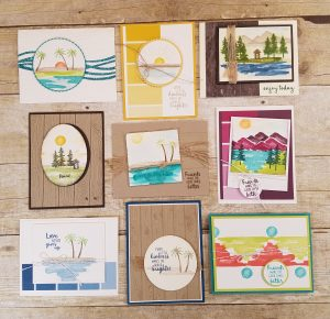 Stampin' Up! Waterfront Card Ideas