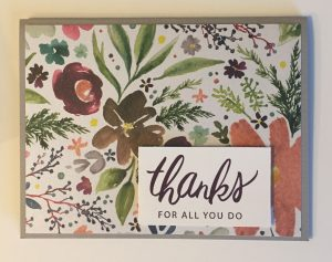 Stampin' Up! One Sheet Wonder Card Ideas