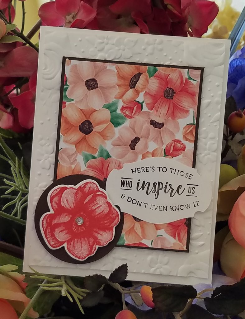 Painted Seasons Sale-A-Bration SAB Stampin' Up! Stampingjill Jill Olsen Part of My Story