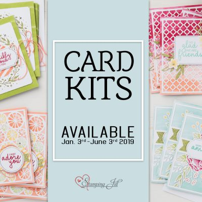 Stamping'Up! Card Kits