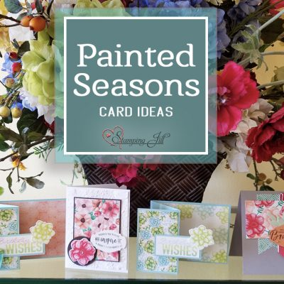 Painted Seasons Card Ideas