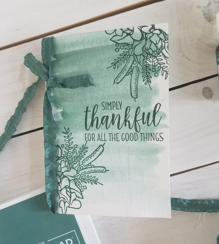 Country Home #simplestamping In Colors Tranquil Tide Stampin' Up! StampingJill Jill Olsen