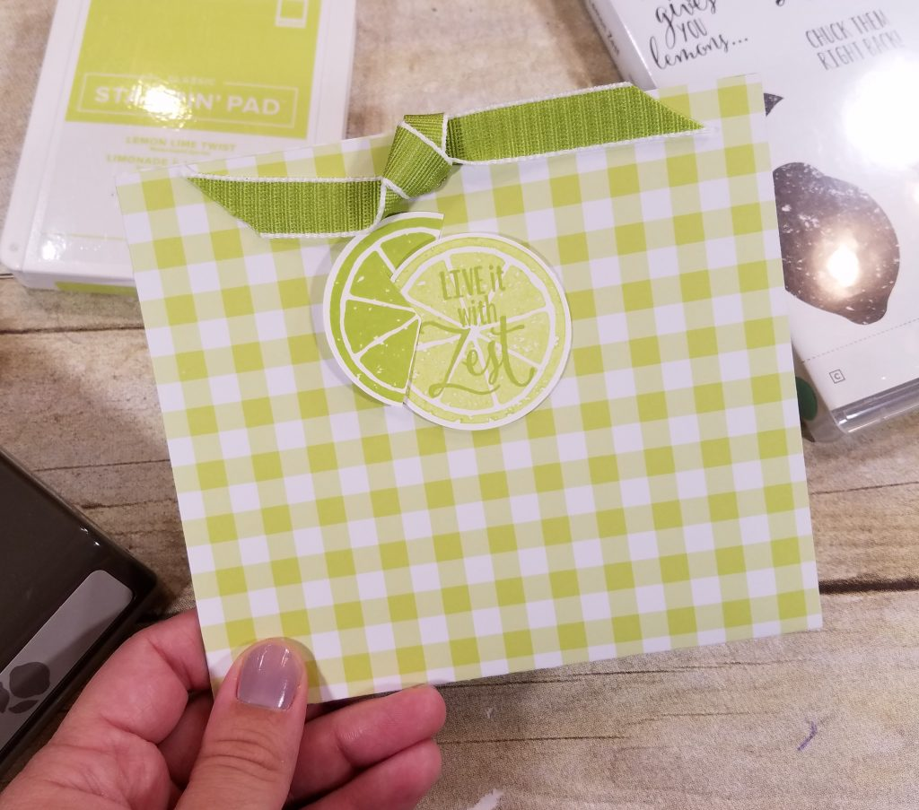 Stampin' Up! Lemon Zest Card Ideas