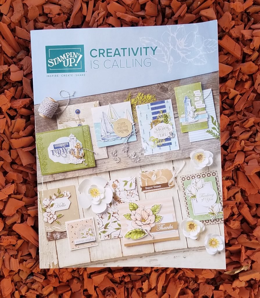 Stampin' Up! Annual Catalog 2019-2020 StampingJill Jill Olsen Free Catalog Creativity is Calling