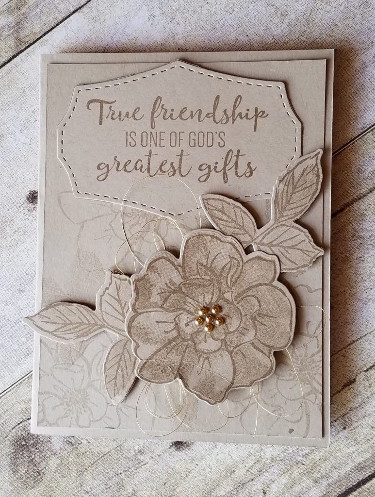 To a Wild Rose Stampin' Up! NEW Crumb Cake Jill Olsen StampingJill