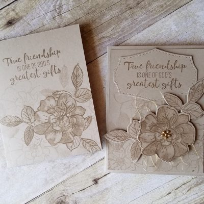 To a Wild Rose Stampin' Up! NEW Crumb Cake Jill Olsen StampingJill #simplestamping