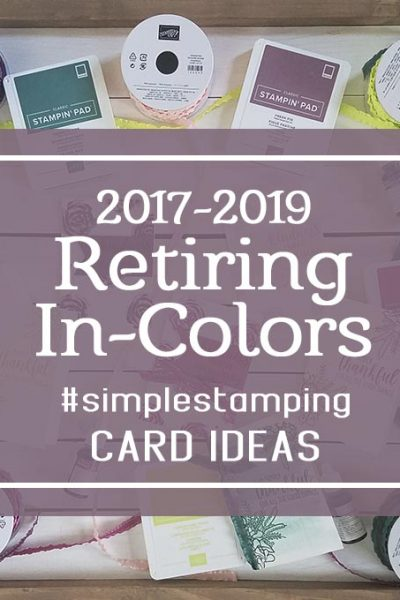 In Colors StampingJill Jill Olsen Lemon Lime Twist Fresh Fig Berry Burst Tranquil Tide Powder Pink #simplestamping