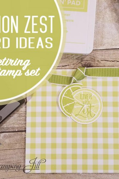 Stampin' Up! Lemon Zest Card Ideas
