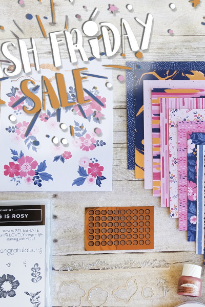 Everything is Rosy Product Medley Rose Gold Flash Sale Friday Jill Olsen StampingJill Stampin' Up! New Product Facebook Live