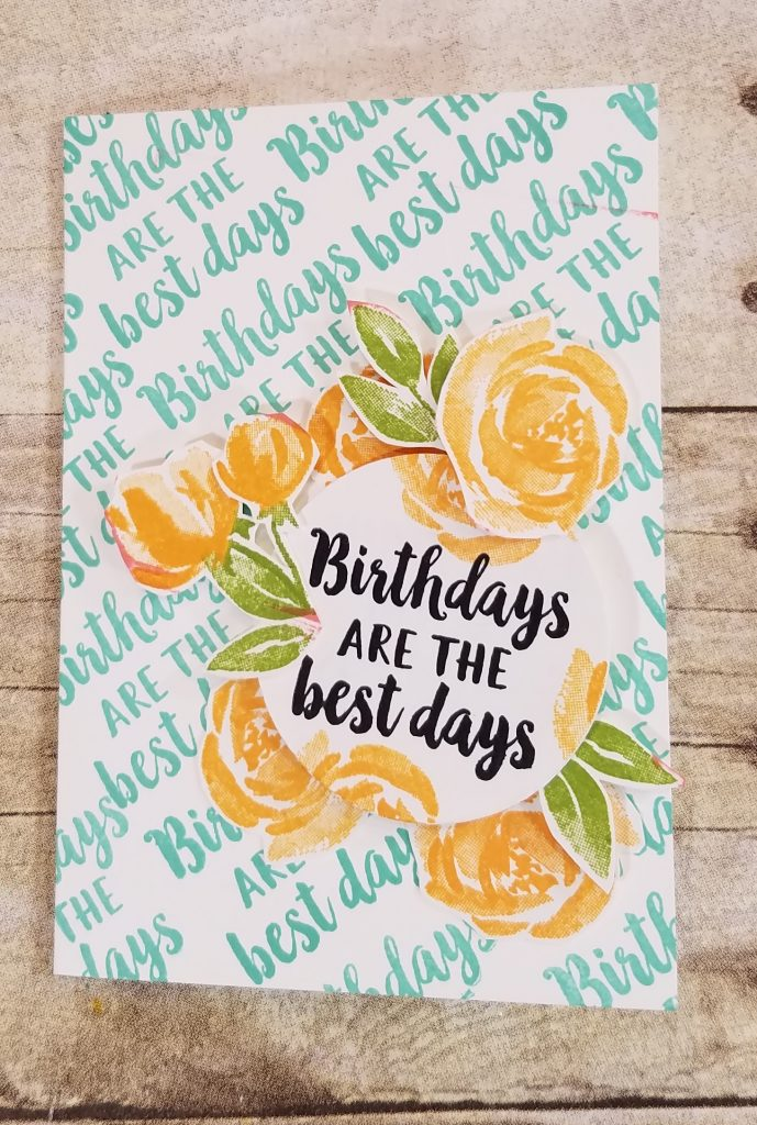 Make a Card Monday StampingJill #simplestamping Beautiful Friendship Stampin' Up! Loni Spendlove Jill Olsen