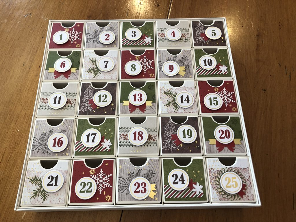 Christmas Countdown Project Kit Ideas