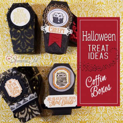 Halloween Treat Ideas – Coffin Treat Boxes