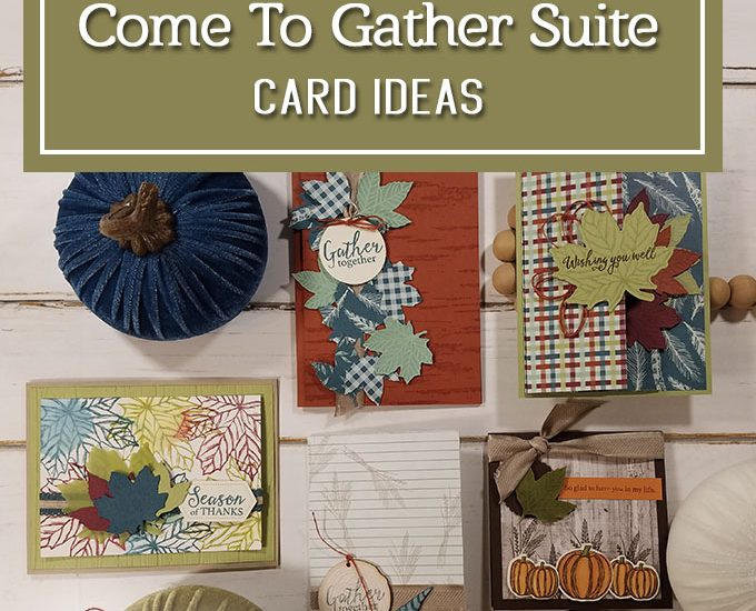 Come To Gather Suite watercolor technique Season of Thanks StampingJill.com Jill Olsen Beth Olsen Stampin' Up!