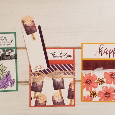 Stampin' Up! Gift Card Holder Card Ideas