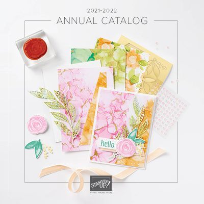 NEW Stampin' Up! Annual Catalog Launch Party!
