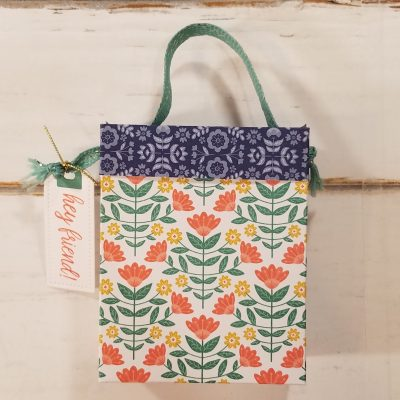 How to Make Designer Series Paper Gift Bags
